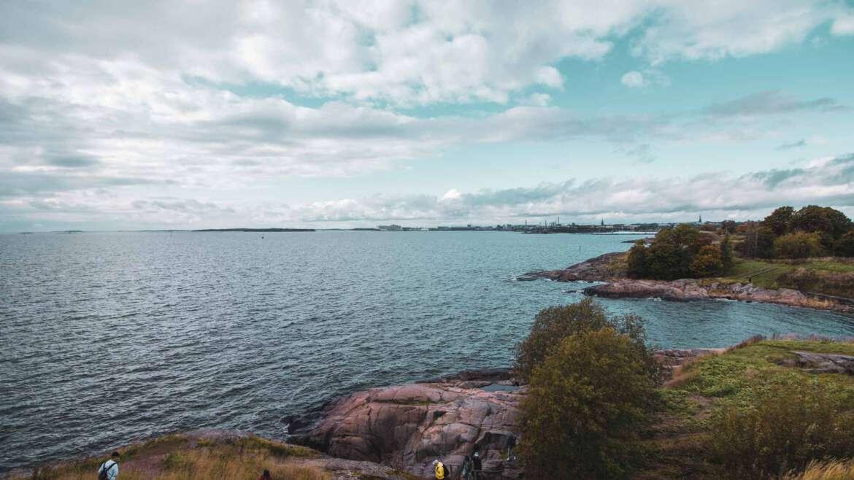 Ryhmäenergiahoitoa Suomenlinnan syysretkellä 3.10.